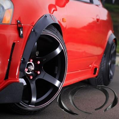 汽车配件轮眉 加宽装饰板轮弧套装